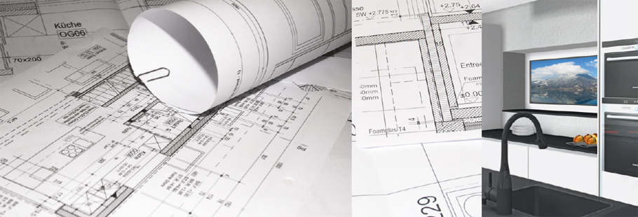 Planung gu küchen bäder innenausbau fenster schreinerei